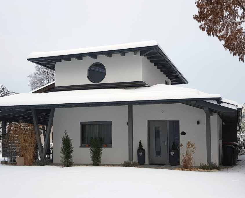 Villa Piccola Villach im Winter