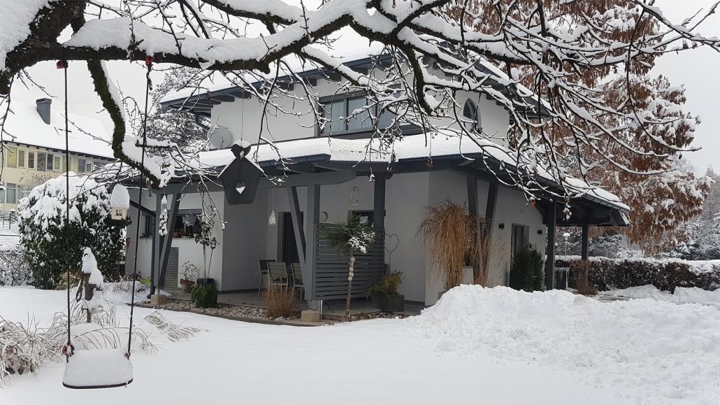 Villa Piccola - Der Garten im Winter